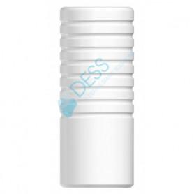 Calcinabile per Ti Base No Round  Pacco da 5 compatibile  con Straumann® Tissue Level & Synocta®