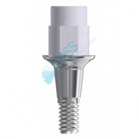 Ti Base Altezza Gengivale 1.5 mm compatibile Dentsply Ankylos®