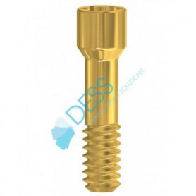 Vite di serraggio in Nitruro di Titanio anodizzato  compatibile Nobel Active® & Replace® CC