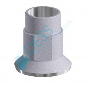 Ti Base compatibile Straumann® Tissue Level & Synocta® - Altezza Gengivale 0.3 mm