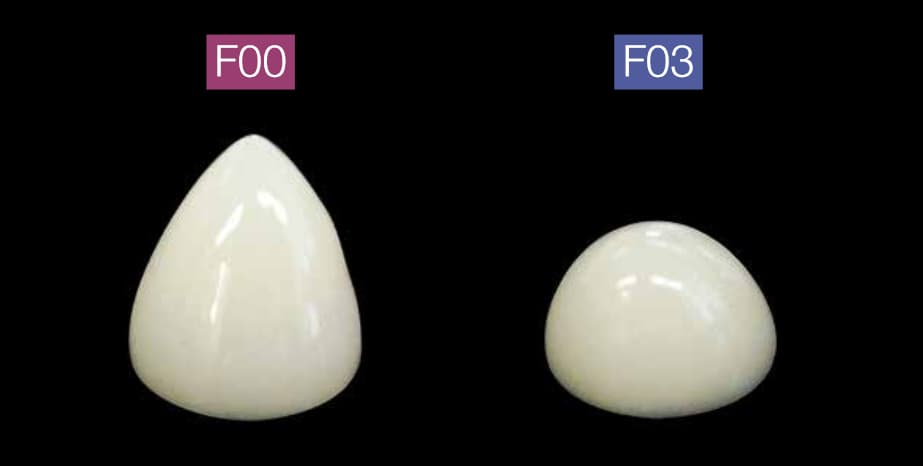Differenze F00 - F03