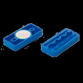 Piastra portamodelli, blu per Artigator conf. 50 pz - AmannGirrbach