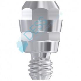 Converter Abutment No Round compatibile Straumann® Tissue Level & Synocta®