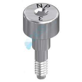 Vite di Guarigione Altezza 3.0 mm compatibile 3I® Certain®