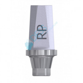 Abutment Diritto Piattaforma RP 4.3 compatibile Nobel Active® e Nobel Replace®