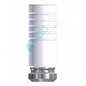 Calcinabile CoCr Base No Round 45° per Uniabutment compatibile Astra Tech Osseospeed™