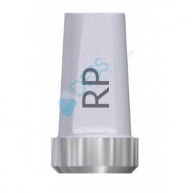 Abutment Diritto per piattaforma RP 4.1 compatibile con Nobel Brånemark®