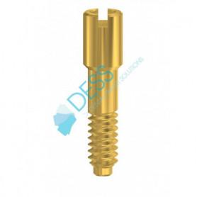 Vite Hex in Nitruro di Titanio 1,27 mm compatibile Friadent® Xive®