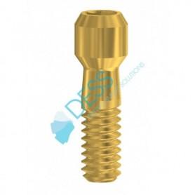 Vite  Hex. 1,27 mm  in Nitruro di Titanio Anodizzato compatibile con  Bego Semados®