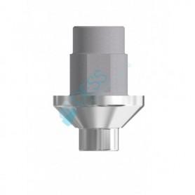 Ti Base Piattaforma 3.25 - 3.75 Altezza Mucosale 1.1 mm compatibile con  Bego Semados®
