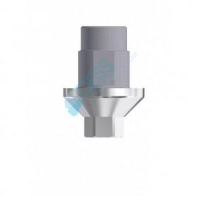 Ti Base Piattaforma 4.5 Altezza Mucosale 0.7 mm compatibile con  Bego Semados®