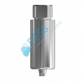 Pre-milled Blank in Titanio Diametro 10 mm  compatibile con Osstem® TS