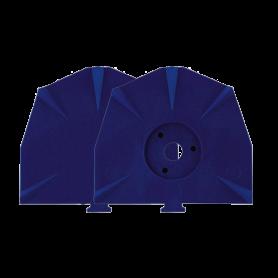 Piastre blu per zoccolo piccole Zeiser - conf. 100 pz - Zeiser