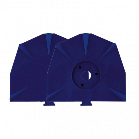 Piastre blu per zoccolo grandi Zeiser - Zeiser